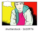 a vector illustration of a... | Shutterstock .eps vector #1610976