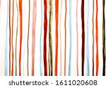 Red Lines Pattern. Horizontal...