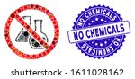 mosaic no chemicals icon and... | Shutterstock .eps vector #1611028162
