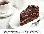 Piece Of Tasty Chocolate Cake...