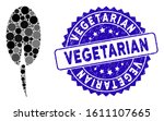 mosaic seed root icon and...   Shutterstock .eps vector #1611107665