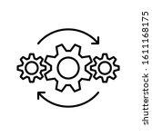 Operations Line Icon Design....