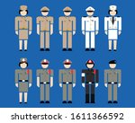 icon uniform thai government... | Shutterstock .eps vector #1611366592