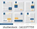 real estate home social media...   Shutterstock .eps vector #1611377755