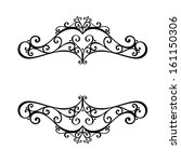 deco abstract symmetric element.... | Shutterstock . vector #161150306