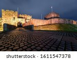 Carlisle Castle At Night  Uk