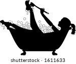 vector silhouette graphic...   Shutterstock .eps vector #1611633