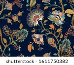 colorful seamless vector... | Shutterstock .eps vector #1611750382