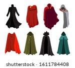 Vector Set Of Cloaks. Cloaks...