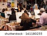 milan  italy   november 1 ... | Shutterstock . vector #161180255