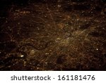 London At Night Time  Aerial...