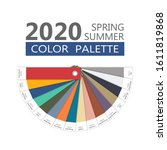round spring and summer 2020... | Shutterstock .eps vector #1611819868