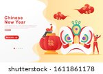 Vector Illustration Chinese New ...