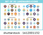 building icons set for business ... | Shutterstock .eps vector #1612001152