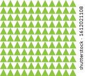 triangles green seamless... | Shutterstock .eps vector #1612021108