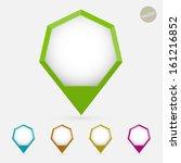 hexagon pointer set