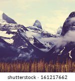 canadian mountains | Shutterstock . vector #161217662