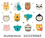 vector collection of hand...   Shutterstock .eps vector #1612196065