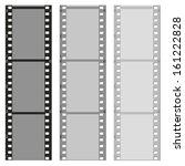 set of pattern films vector... | Shutterstock .eps vector #161222828