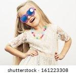 Fashion Portrait Of Girl Child...