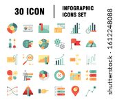 simple infographics icons set....