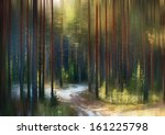 Abstract Blurred Autumn...