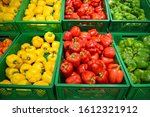 Red  Yellow And Green Peppers...