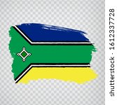 flag of amapa from brush...