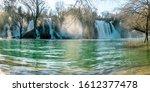 Picturesque Kravice Waterfalls...