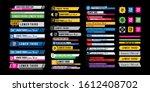 news lower thirds pack vector.... | Shutterstock .eps vector #1612408702