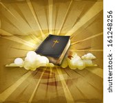 bible  old style vector... | Shutterstock .eps vector #161248256