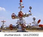 production wellhead  | Shutterstock . vector #161253002