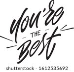"calligraphy composition ""you're ... 