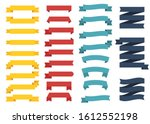 mini popular set of different... | Shutterstock .eps vector #1612552198