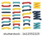mini popular set of different... | Shutterstock .eps vector #1612552225