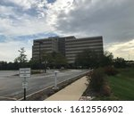 Small photo of Oak Brook IL, USA - September 3, 2018: McDonalds Corporate Office in Oak Brook IL on the corner of 22nd Street and Spring before it was demolished.
