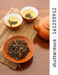 traditional chinese tea beverage | Shutterstock . vector #161255912
