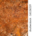 close up of rusty iron plate... | Shutterstock . vector #16126219