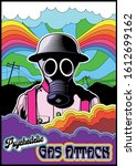 gas attack  gas mask...   Shutterstock .eps vector #1612699162