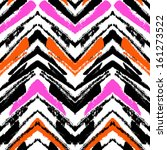 multicolor hand drawn pattern... | Shutterstock .eps vector #161273522