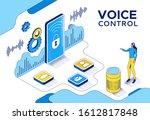 voice control isometric 3d...