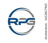 rpg logo can be used for... | Shutterstock .eps vector #1612817965