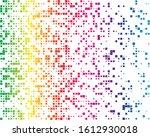 squares pixelated  block pixels ... | Shutterstock .eps vector #1612930018