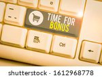 word writing text time for... | Shutterstock . vector #1612968778