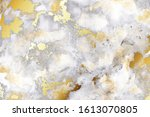 luxury grey watercolor and gold ...   Shutterstock .eps vector #1613070805