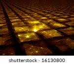 Golden Grid Hub   Fractal...