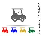 golf cart multi color style...