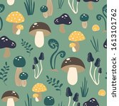 Cute Vector Pattern With...