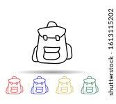 backpack sketch multi color...