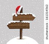 christmas card in vector | Shutterstock .eps vector #161314562